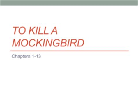 Innocence in to kill a mockingbird thesis summary